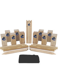 Vancouver Canucks Kubb Chess Tailgate Game