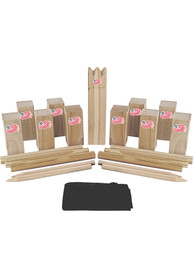 New England Revolution Kubb Chess Tailgate Game