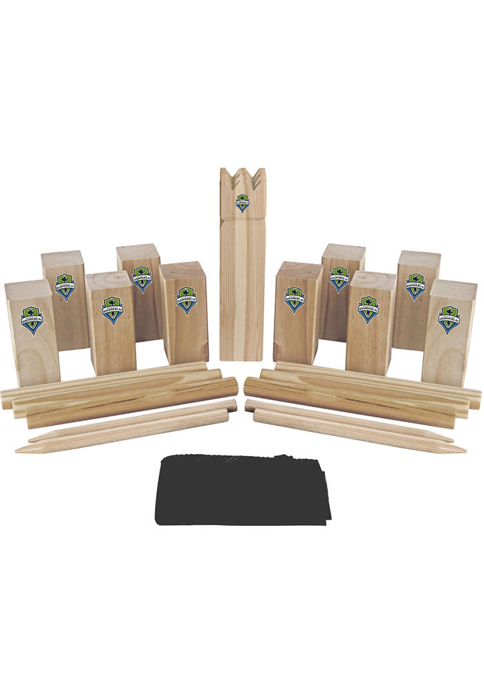 Seattle Sounders FC Kubb Chess Tailgate Game - Image 1