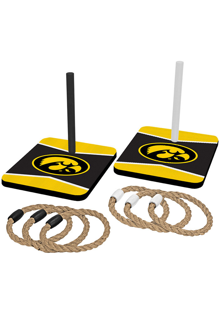 Iowa Hawkeyes Quoit Ring Toss Tailgate Game - Image 1