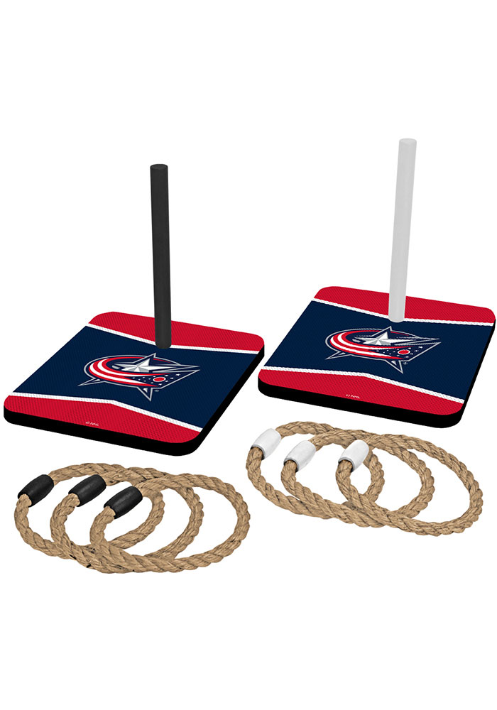 Columbus Blue Jackets Quoit Ring Toss Tailgate Game - Image 1