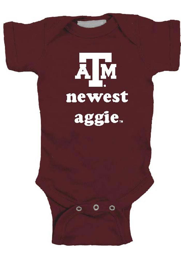 Texas A&M Aggies Baby Maroon Newest One Piece