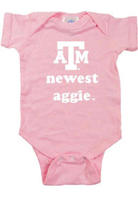 Texas A&M Aggies Baby Pink Newest One Piece