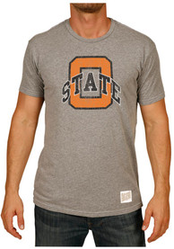 Original Retro Brand Oklahoma State Cowboys Grey O State Fashion Tee
