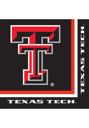 Texas Tech Red Raiders Luncheon 20 Pack Napkins