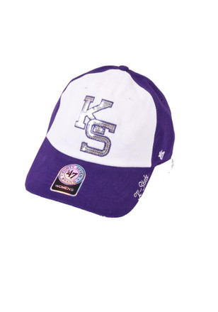 '47 K-State Wildcats Purple Sparkle Adjustable Hat