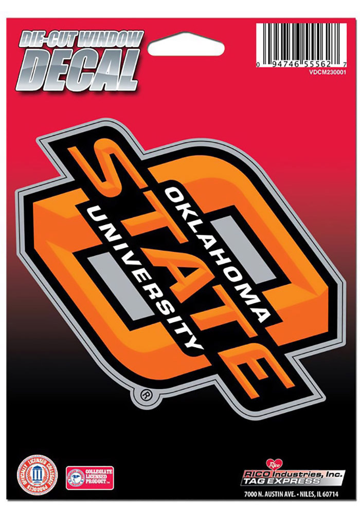 Oklahoma State Cowboys Basic Die Cut Decal - Image 1