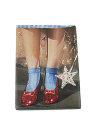 Dorothy Wizard of Oz Ruby Slipper and Wand Magnet
