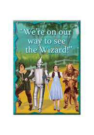 Wizard of Oz Off to See the Wizard Magnet