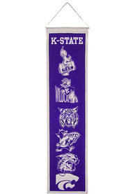 K-State Wildcats 8x32 Heritage Banner