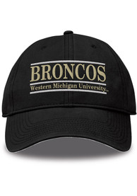 Western Michigan Broncos Bar Adjustable Hat - White