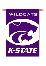 K-State Wildcats 28x40 Purple Sleeve Banner