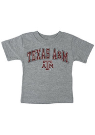 Texas A&M Aggies Infant Midsize Arch T-Shirt - Grey
