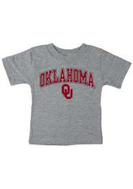 Oklahoma Sooners Infant Arch T-Shirt - Grey