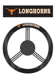 Texas Longhorns Poly-Suede Auto Steering Wheel Cover