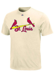 Majestic St Louis Cardinals Oatmeal s Tee
