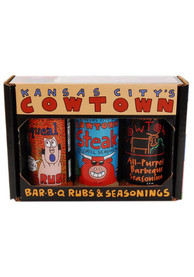 Cowtown Bar-B-Q Rub & Seasoning Gift Box