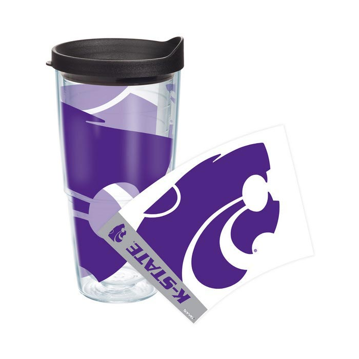 K-State Wildcats 24oz Colossal Wrap Tumbler - Image 1