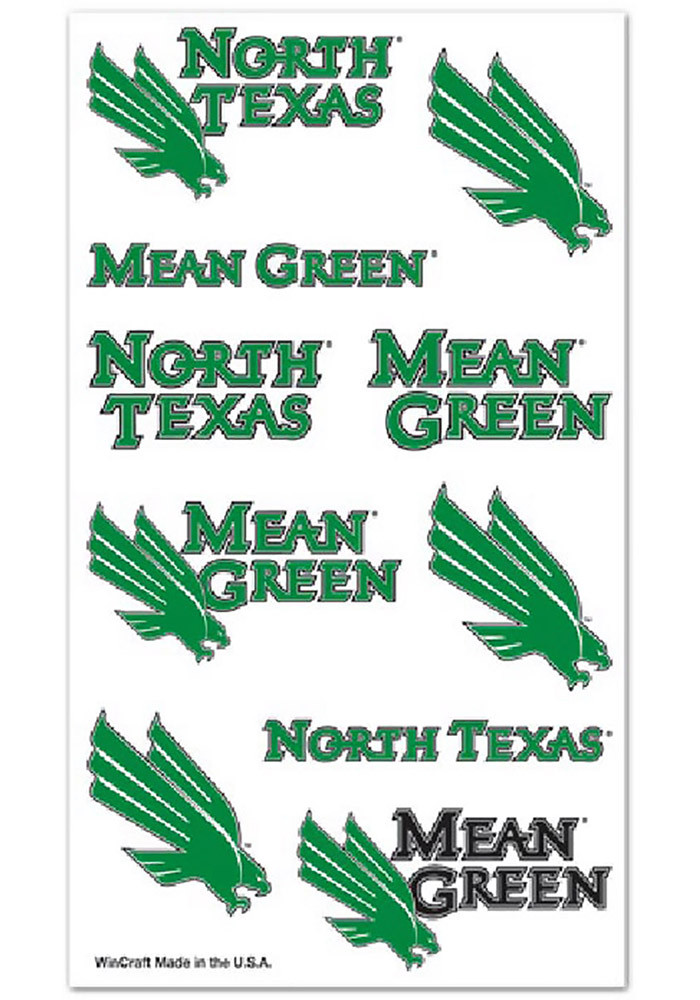 North Texas Mean Green Sheet Tattoo - Image 1