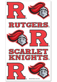 Rutgers Scarlet Knights Sheet Tattoo