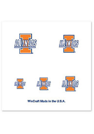 Illinois Fighting Illini Fingernail Tattoos Tattoo
