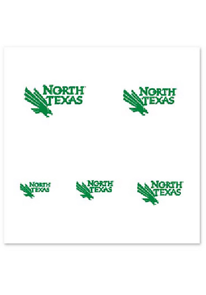 North Texas Mean Green Fingernail Tattoo - Image 1