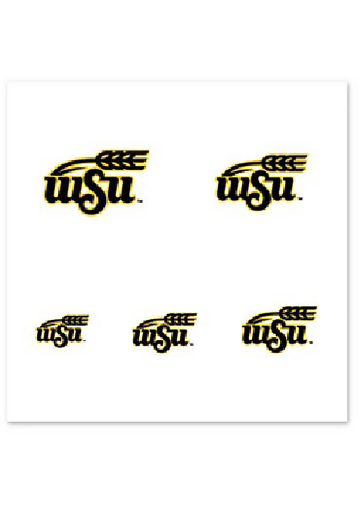 Wichita State Shockers Fingernail Tattoo - Image 1