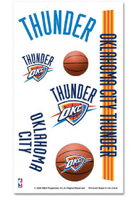 Oklahoma City Thunder Tattoo Sheet Tattoo