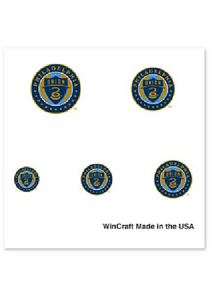 Philadelphia Union Fingernail Tattoo - Image 1