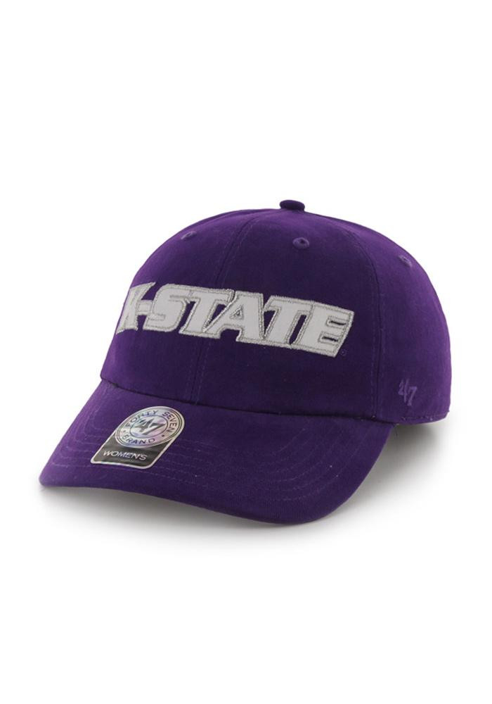 '47 K-State Wildcats Purple Natalie Womens Adjustable Hat - Image 1