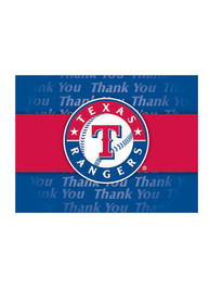 Texas Rangers Thank You Card