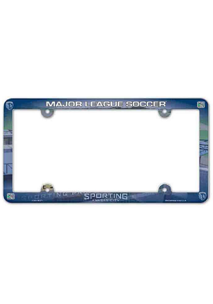 Sporting Kansas City Full Color Plastic License Frame