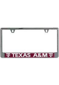 Texas A&M Aggies Red Domed License Frame