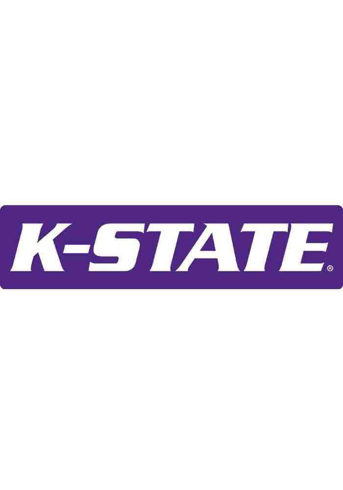 K-State Wildcats 3x11 Purple Decal - Image 1