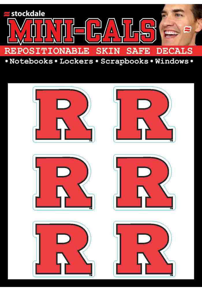 Rutgers Scarlet Knights 6 Pack Tattoo - Image 1