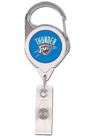 Oklahoma City Thunder Silver Badge Holder