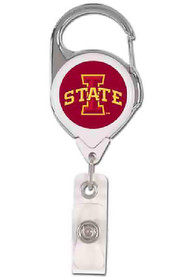 Iowa State Cyclones Silver Badge Holder
