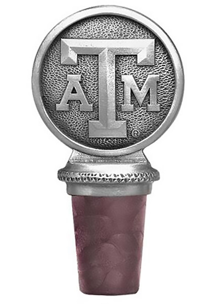 Texas A&M Aggies Bottle Stopper Wine Accessory