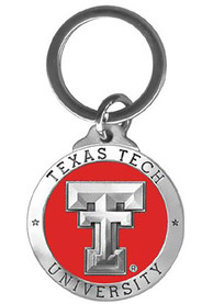 Texas Tech Red Raiders Red Pewter Keychain