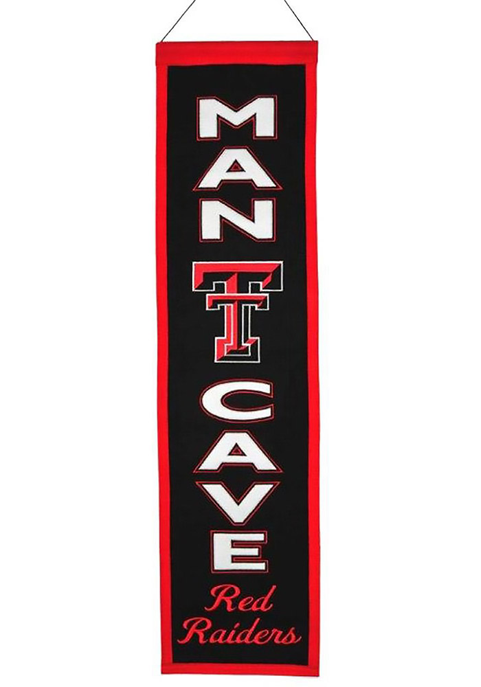 Texas Tech Red Raiders 8x32 Man Cave Banner - Image 1