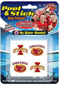 Iowa State Cyclones 8 Pack Tattoo