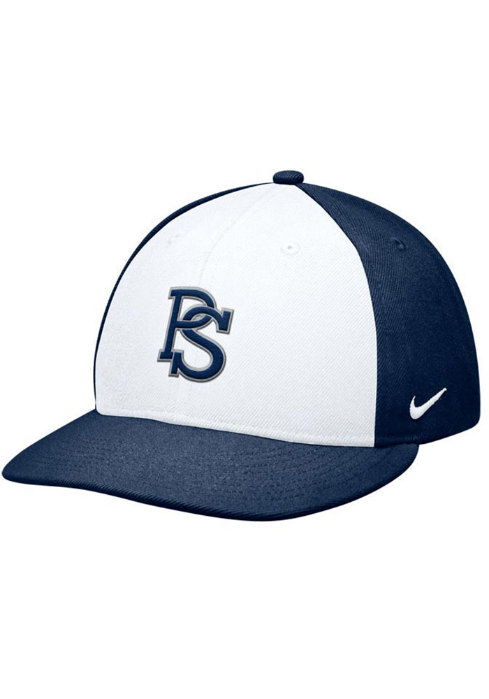 huge selection of a44aa b08d9 ... reduced nike penn state nittany lions mens navy blue authentic baseball fitted  hat 167e8 1385d