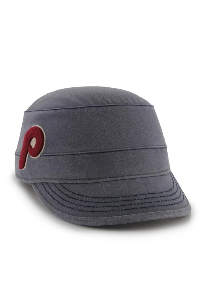 '47 Philadelphia Phillies Navy Blue Honey Creek Womens Adjustable Hat - Image 1