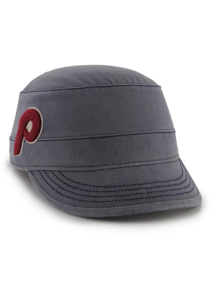 '47 Philadelphia Phillies Navy Blue Honey Creek Womens Adjustable Hat - Image 2