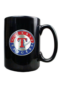 Texas Rangers 15oz Black Mug