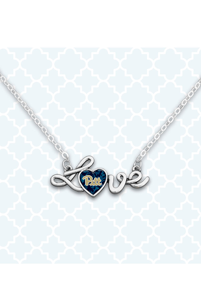 Penn State Nittany Lions Love Script Necklace - Image 1