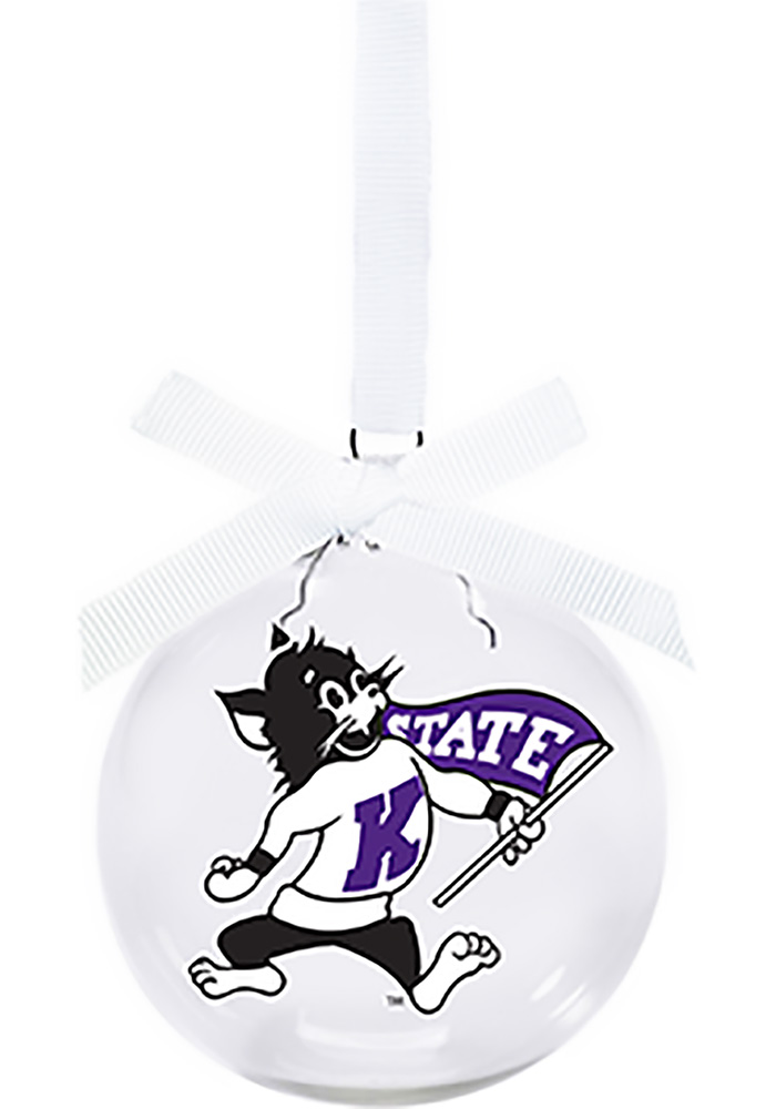 K-State Wildcats Willie Wildcat Ornament - Image 1
