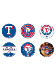 Texas Rangers 6pk Button