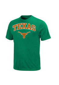 Majestic Texas Longhorns Green St. Pats Tee