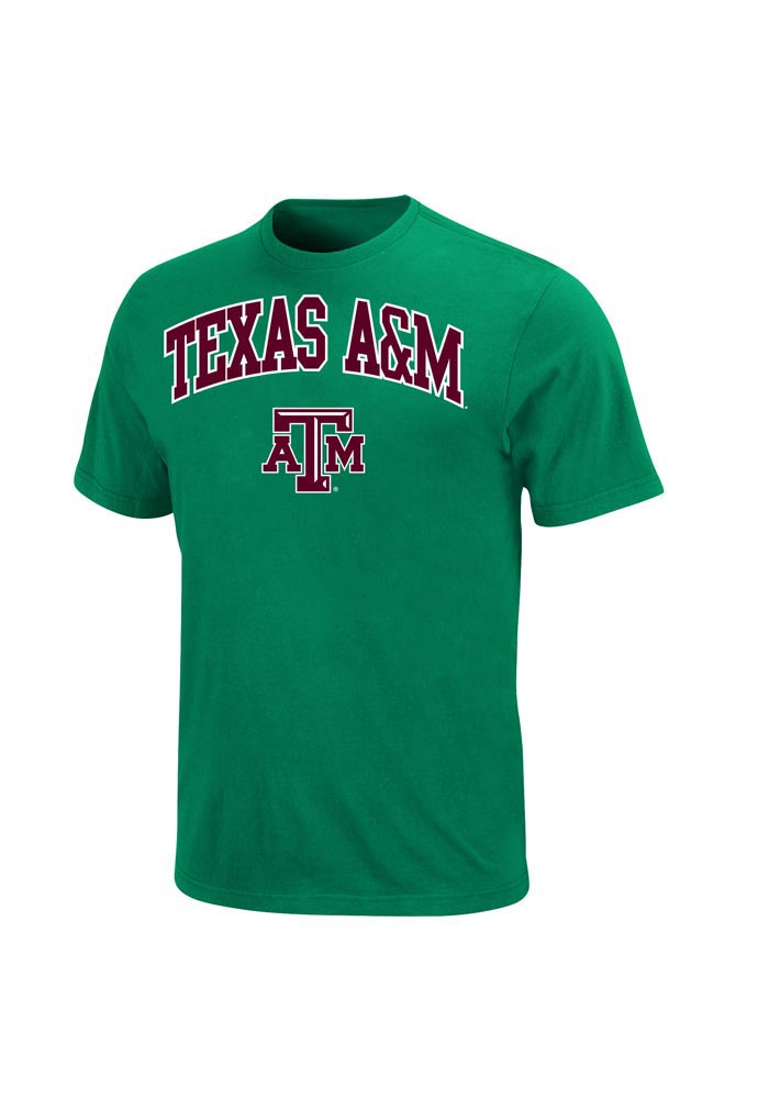 Majestic Texas A&M Aggies Green St. Pats Tee